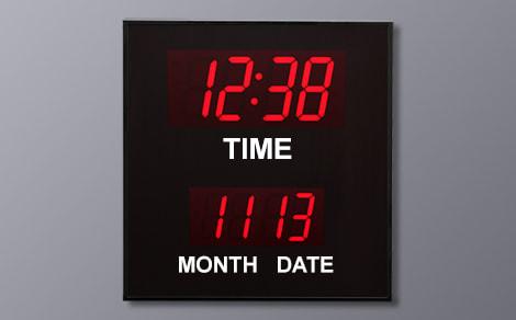 BCL-42440 Month Day Calendar Clock