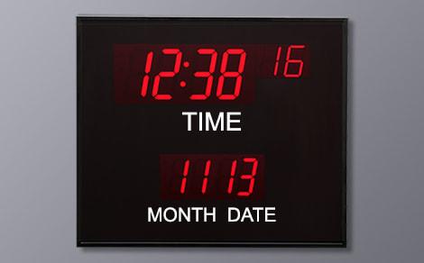 BCL-62440 Month Day Calendar Clock