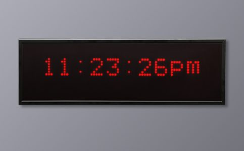 Multi LED Display - 6 Digit 12 Hour Time