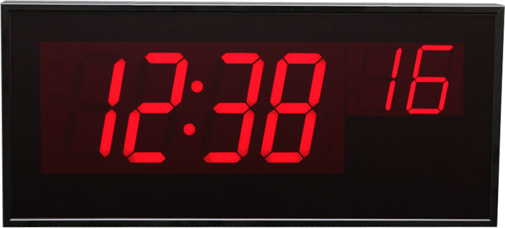 6 Digit Master Clock